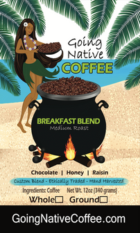 Breakfast Blend Subscription - Going Native Coffee Club