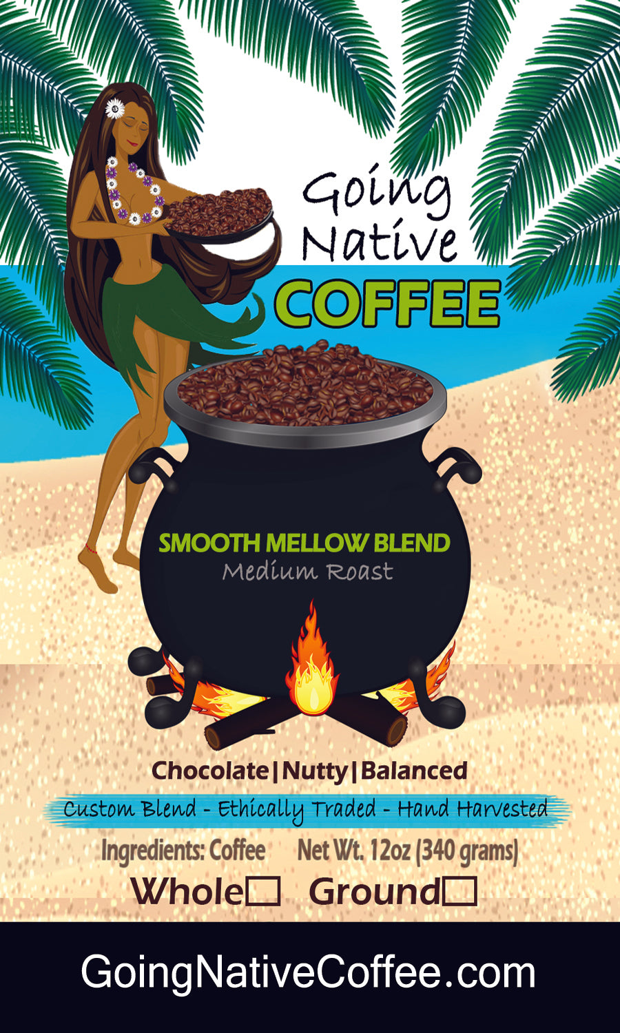 Smooth Mellow Coffee Beans - Custom Blend - Coffee Subscription