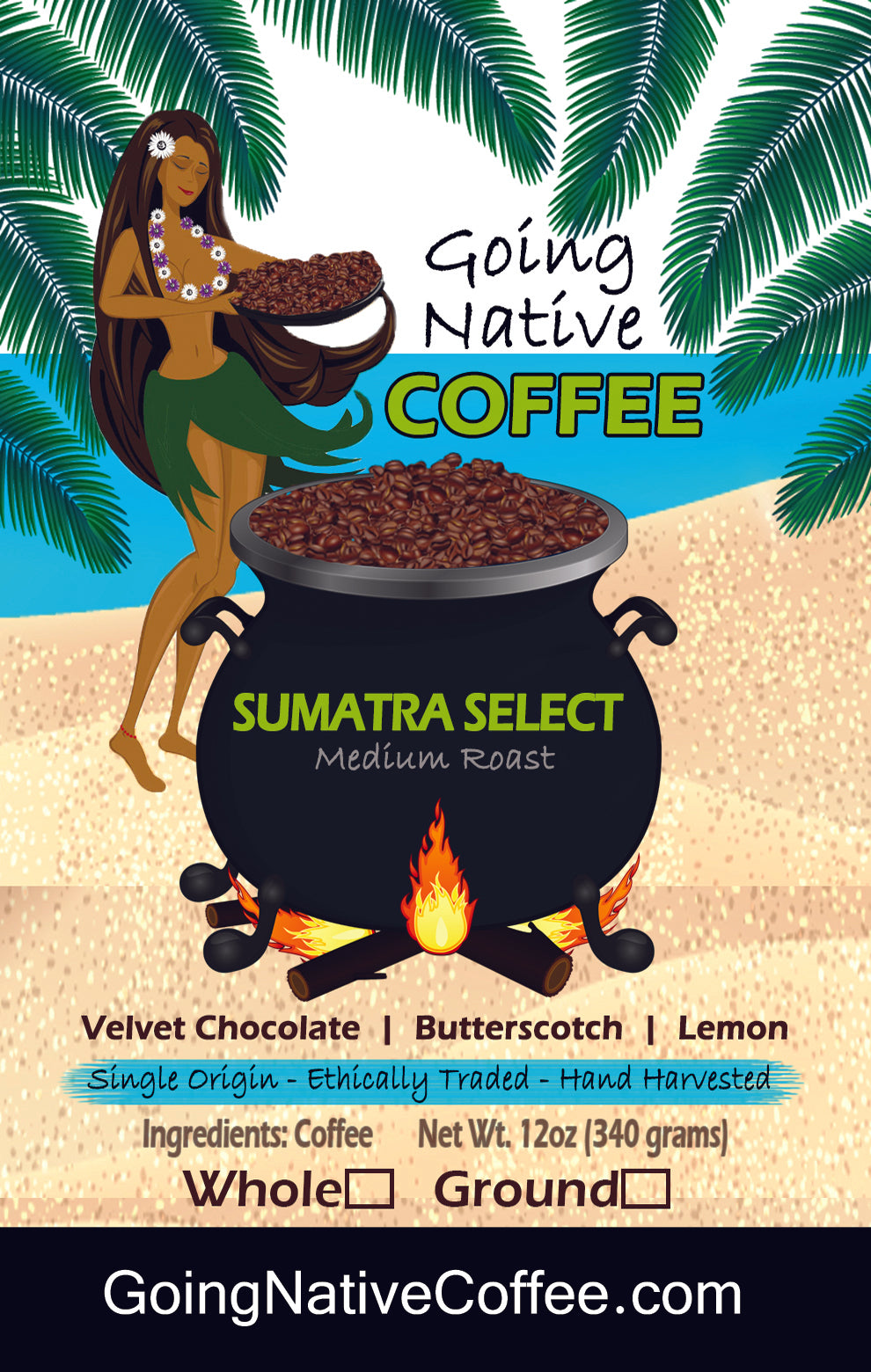 Sumatra Select Coffee Subscription - Sumatra Bener Meriah Mandheling Gr1