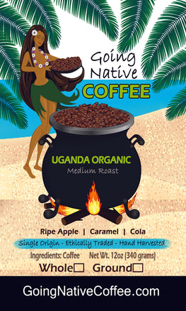 Uganda Coffee Beans | Sipi Falls Organic | Coffee Subscription - Going Native Coffee Club