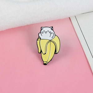 Kitty in Banana