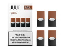Load image into Gallery viewer, JUUL CLASSIC TOBACCO PODS (4 PACK)