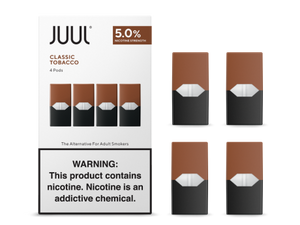 JUUL CLASSIC TOBACCO PODS (4 PACK)