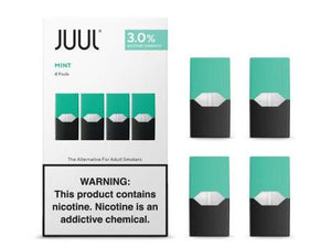 JUUL MINT PODS 3% (4 PACK)