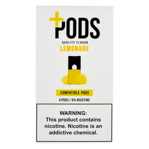 PLUS PODS  Lemonade  (4-PACK)