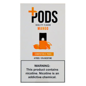 PLUS PODS Mango (4-PACK)