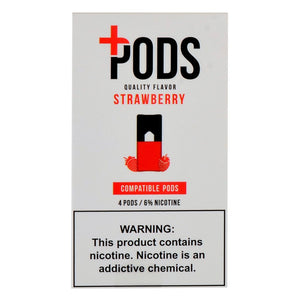 PLUS PODS Strawberry (4-PACK)