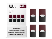 Load image into Gallery viewer, JUUL VIRGINIA TOBACCO PODS 3% (4 Pack)
