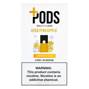 PLUS PODS Iced Pineapple (4-PACK)