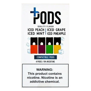 PLUS PODS Iced Multipack (4-PACK)