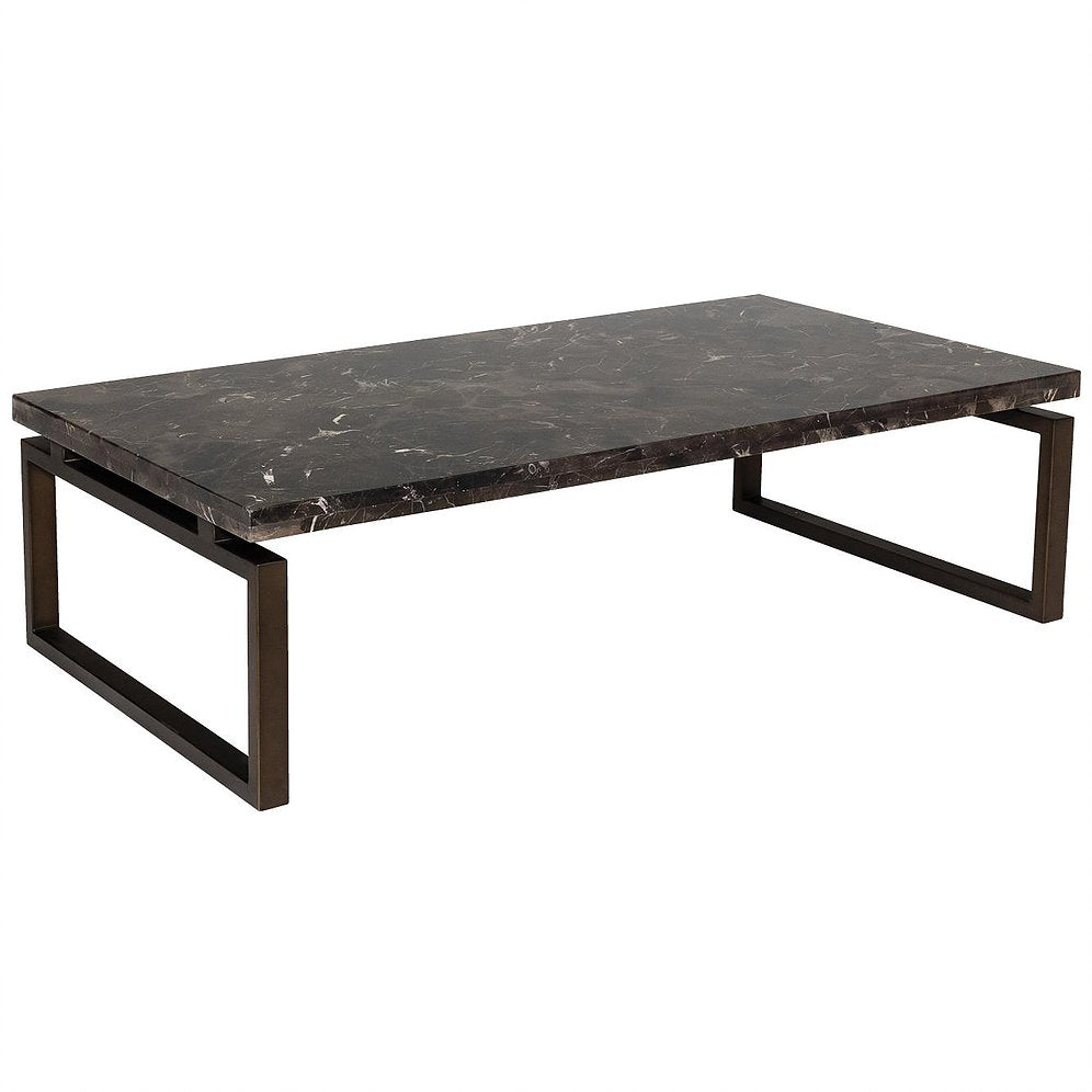 Kalia Marble Coffee Table side