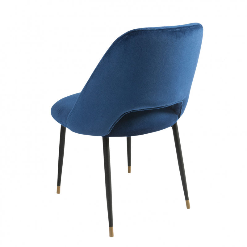 Germain Dining Chair royal blue back