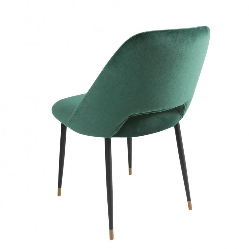 Germain Dining Chair emerald back