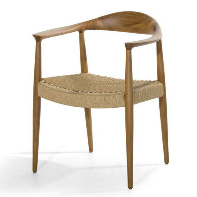 Minister Dining Chair front