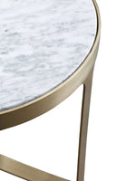 Julius Side Table gold detail