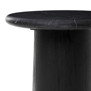 Onyx Marble Side Table detail