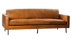 Gaspard Leather Sofa