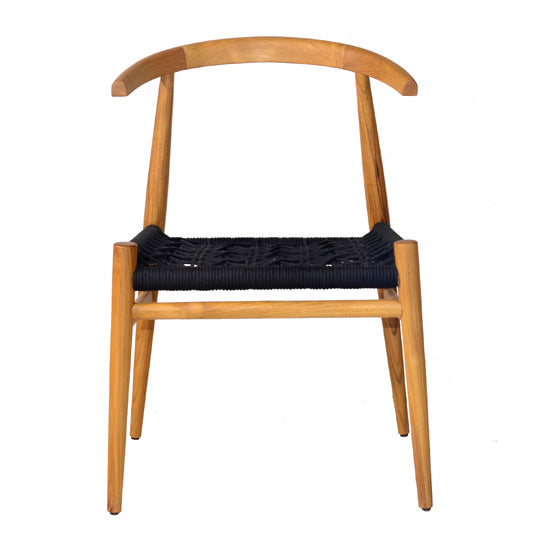 Bull Dining Chair natural wood