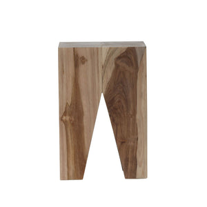 Logan Stool natural teak