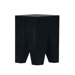 Logan Stool black side