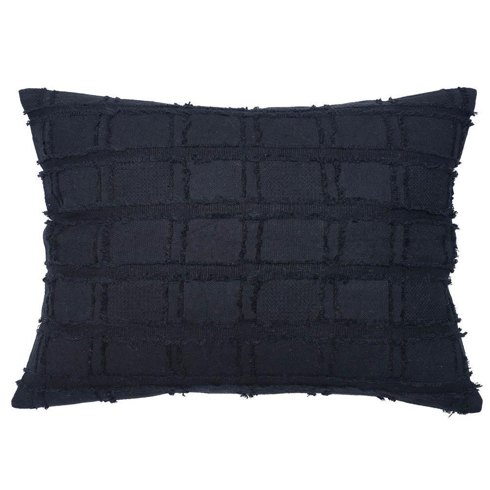 Bedu Rectangle Cushion black