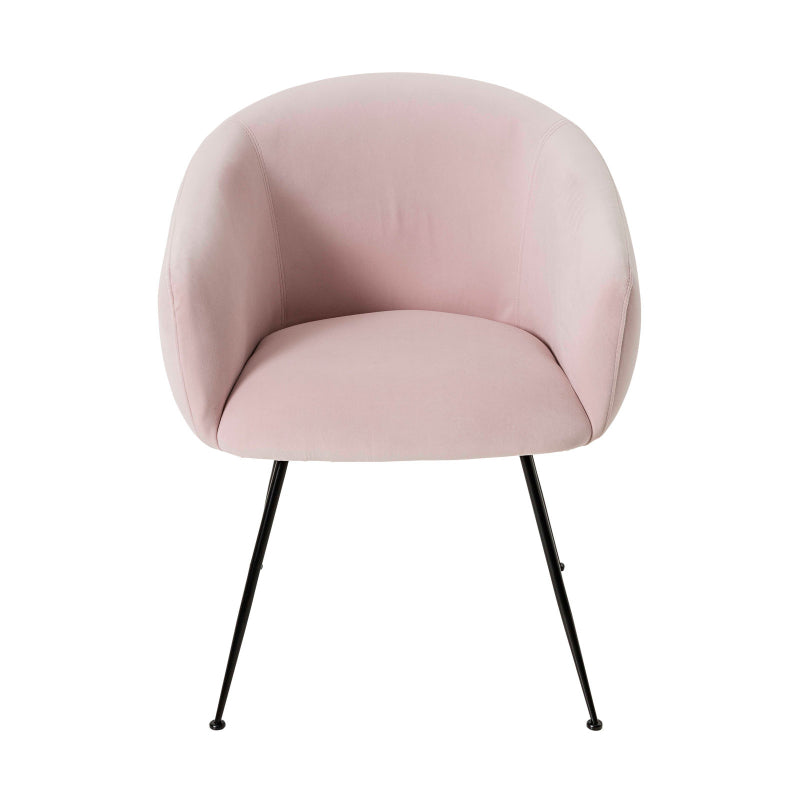Clarissa Dining Chair colour dusty pink
