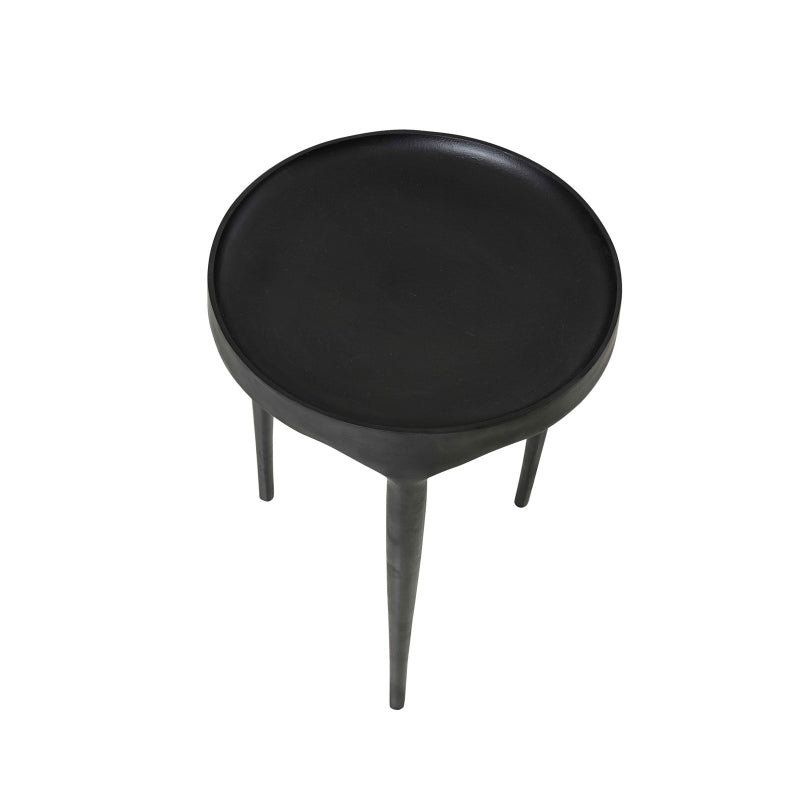 Amsterdam Side Table dark wood modern
