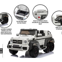 2021 HB Mercedes-Benz G63 6x6  - White