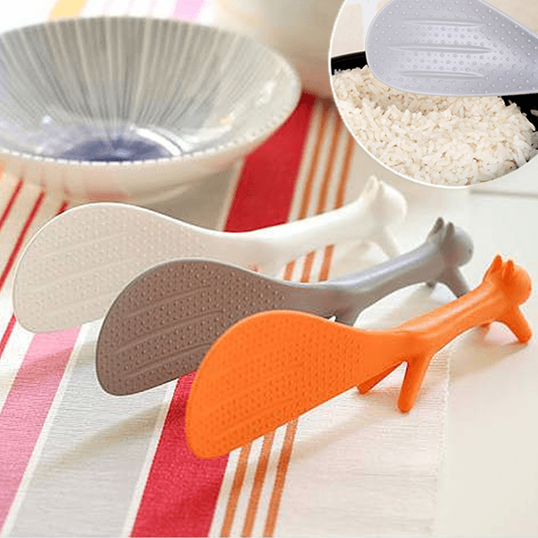 Squirrel Shaped Non Stick Rice Paddle - makegoodies