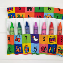Crayon Wrap - 123s fabric