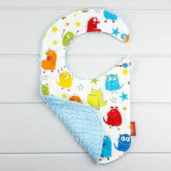 Baby Boy Gift Set - Colour Monsters fabric