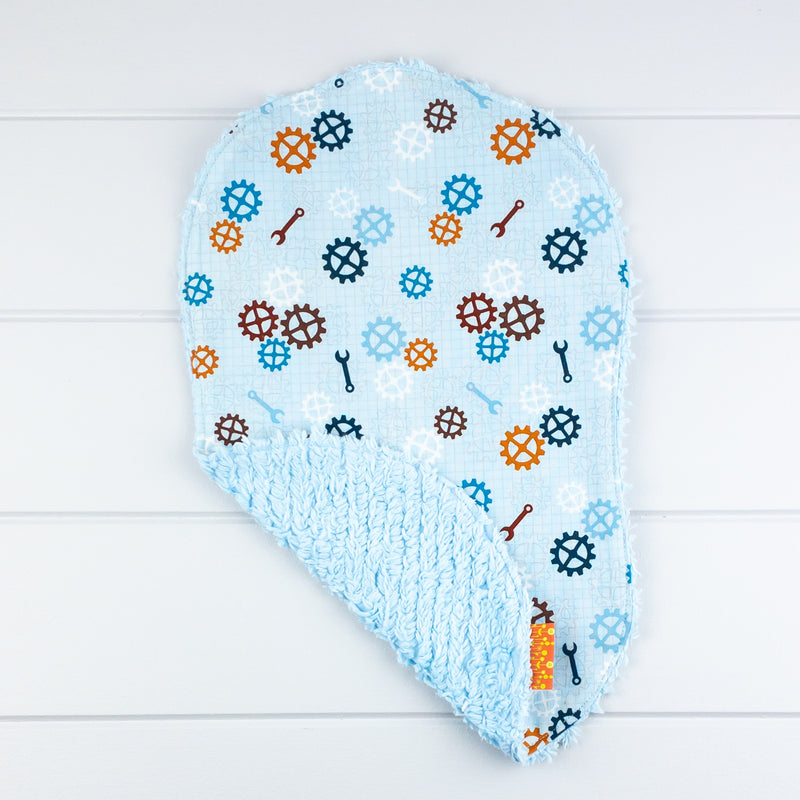 Baby Boy Gift Set - Robot fabric