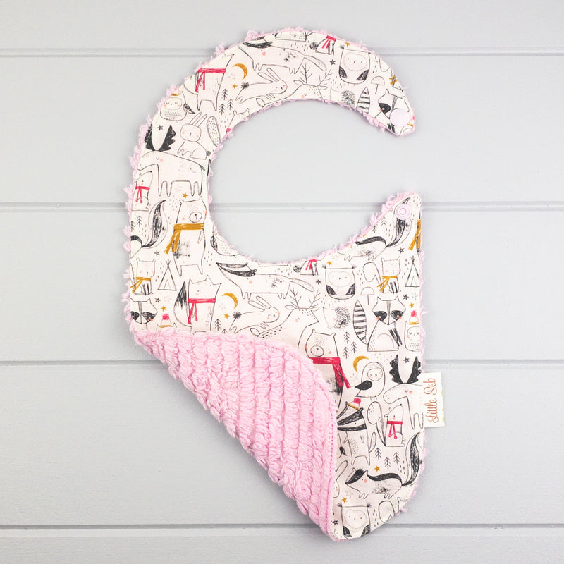 Baby Girl Gift Set - Under The Stars fabric