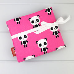 Crayon Wrap - Panda fabric
