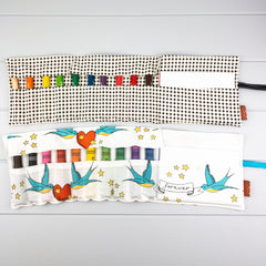 Crayon Wrap - Forever Birds fabric