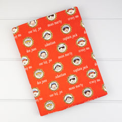 Pencil Roll - Pirates fabric