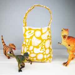 Kids Bag - Dinosaur Fossil fabric