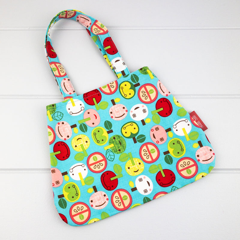 Little Girl Bag - Apple fabric