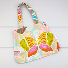 Little Girl Bag - Butterflies fabric