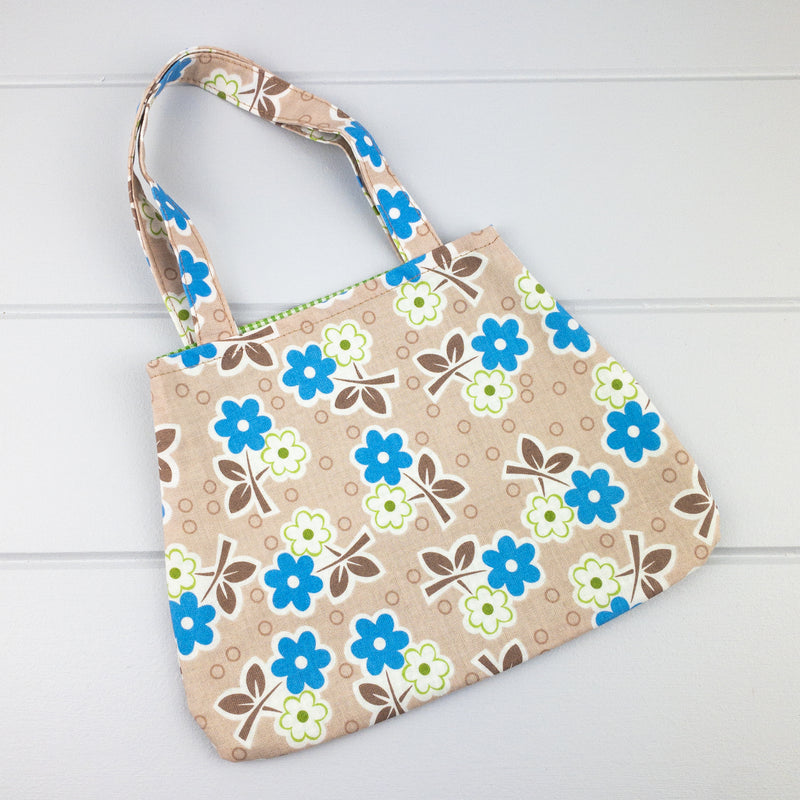 Little Girl Bag - Flowers fabric