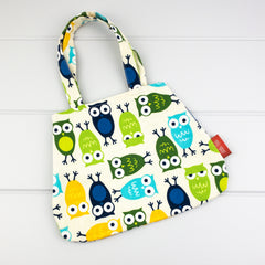 Little Girl Bag - Owl fabric