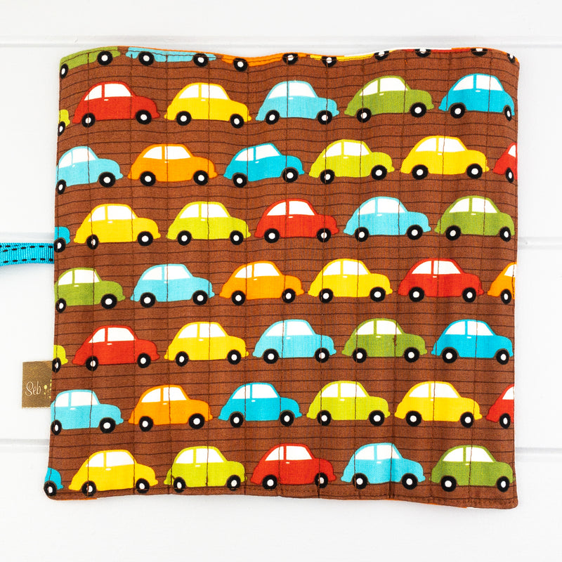 Pencil Roll - Cars fabric