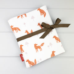 Pencil Wrap - Fox fabric