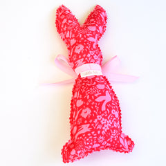 Easter Bunny Softie - Pink fabric