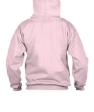 LEGENDARY SWEAT A CAPUCHE UNISEXE MICROPLAYER ROSE/NOIR LOGO BLANC - Sweat à capuche unisex