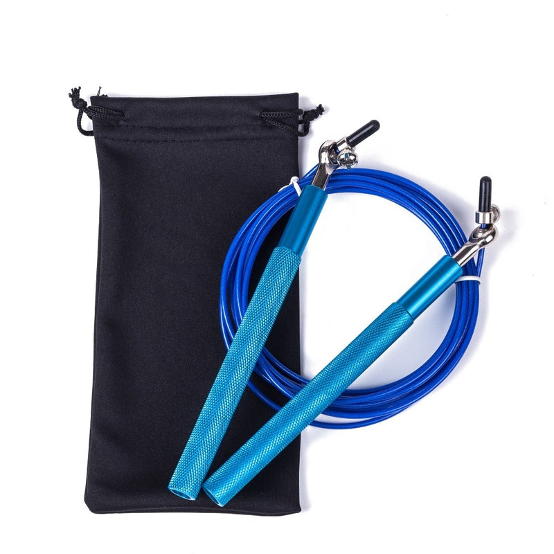 Adjustable Metal Speed Skipping Rope Boxing MMA Jump Crossfit Exercise Fitness