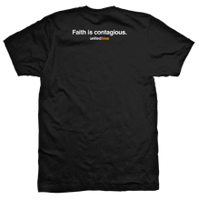 Load image into Gallery viewer, MEN'S LOGOMARK T-SHIRT (FAITH IS CONTAGIOUS EDITION)