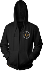 MEN'S GLOBAL BADGE ZIP HOODIE