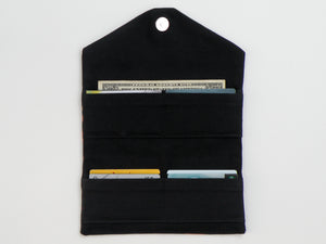 Bleach Dye Trifold Wallet - Starlight Bags