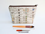 Watercolor Chart Cosmetic Bag - Starlight Bags